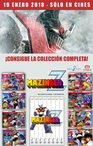Gran Vía Cines y Selecta Visión te regalan la serie original completa de Mazinger Z